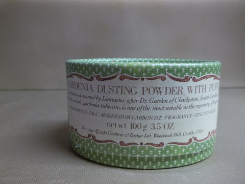 Crabtree & Evelyn Gardenia Dusting Powder 3.5 oz. - Discontinued Beauty Products LLC