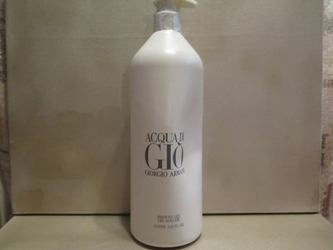 Giorgio Armani Acqua Di Gio Shower Gel 1 Liter Misc. - Discontinued Beauty Products LLC