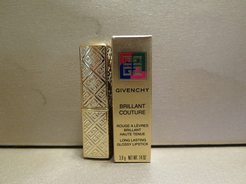 Givenchy Brilliant Couture Long Lasting Glossy Lipstick #612 Rouge Oriental .14 oz. - Discontinued Beauty Products LLC
