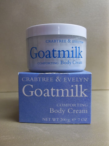 Crabtree & Evelyn Goatmilk Comforting Body Cream 7 oz. - Discontinued Beauty Products LLC