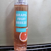 BATH & BODY WORKS GRAPEFRUIT BREEZE MIST - Discontinued Beauty Products LLC