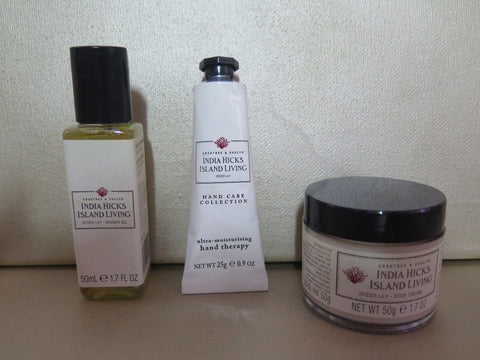 CARBTREE & EVELYN Indian Hicks Spider Lily Gift set Discontinued - Discontinued Beauty Products LLC
