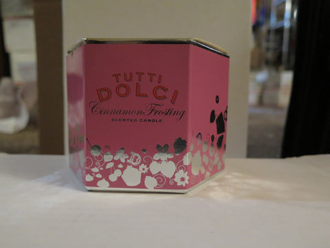 Tutti Dolci From Bath & Works Cinnamon Frosting Candle