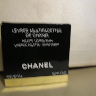CHANEL LIPSTICK PALETTE-SATIN FINISH - Discontinued Beauty Products LLC