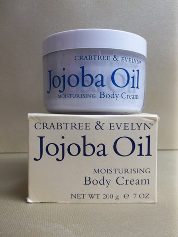 Crabtree & Evelyn Jojoba Oil Moisturising Body Cream 7 oz. - Discontinued Beauty Products LLC