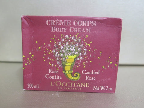 L'Occitane Candied Rose Body Cream 7 oz.