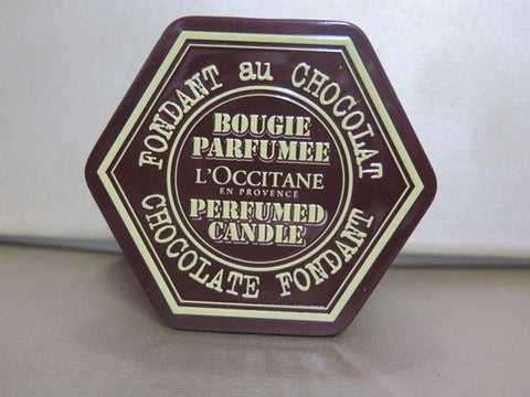 L'Occitane Chocolate Foundant Scented Candle 3.5 oz.