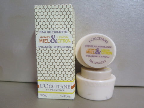 L'Occitane Honey & Lemon Gift Set