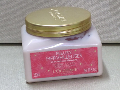L'Occitane Marvellous Flowers Body Cream 8.8 oz