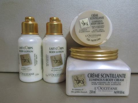 L'Occitane The Golden Branch Lotion & Body Cream, Home and Travel