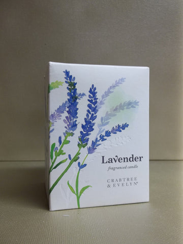 Crabtree & Evelyn Lavender Fragrance Candle - Discontinued Beauty Products LLC