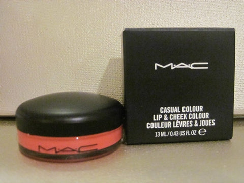 MAC Casual Colour Lip & Cheek Colour Hi Jinks! .43 oz.