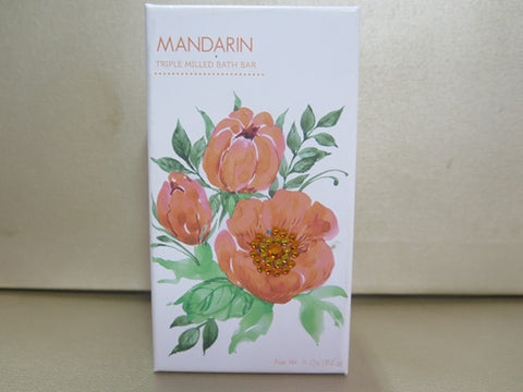 Mandarin Triple Milled Bath Soap 12 oz. Misc.