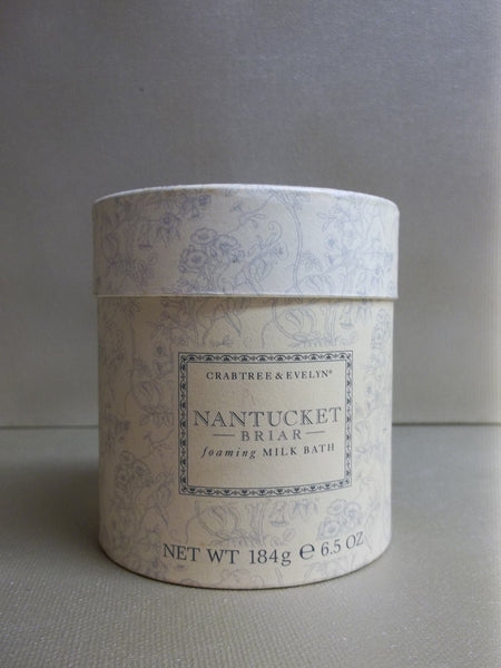 Crabtree Amp Evelyn Nantucket Briar Foaming Milk Bath 6 5 Oz Discontinued Beauty Products Llc