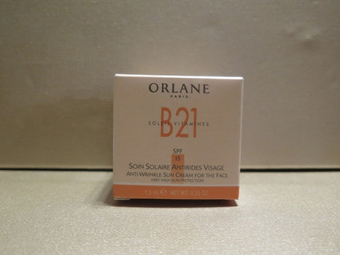 Orlane B21 Anti-Wrinkle Sun Cream For the Face .25 oz.