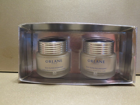 Orlane B21 Intensive Nurturing Care 1.7 oz. & Super Moisturizing Concentrate 1.7 oz. Full Size