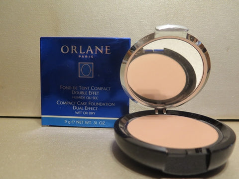 Orlane Compact Cake Foundation Dual Effect #05 Ambre 0.31 oz.