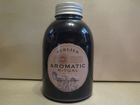 Perlier Aromatic Ritual Amber & Acai Berries Foam Bath 16.9 oz.