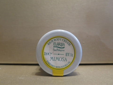 Perlier Elariia Mimosa Rich Body Cream 1 oz.