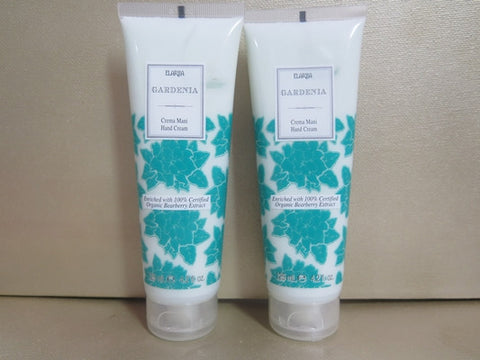 Perlier Gardenia Hand Cream 4.2 oz. each Set of 2