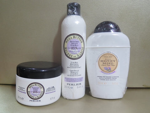 Perlier Honey & Lavender Gift Set - Discontinued Beauty Products LLC