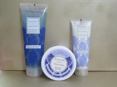 Perlier Hyacinth Gift Set - Discontinued Beauty Products LLC