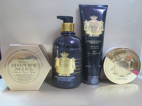 Perlier Imperial Honey Gift Set - Discontinued Beauty Products LLC