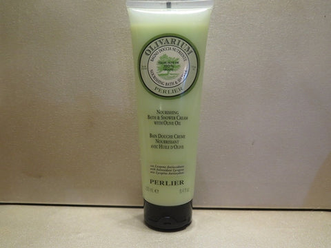 Perlier Olivarium Nourishing Bath & Shower Cream with Olive Oil 8.4 oz.