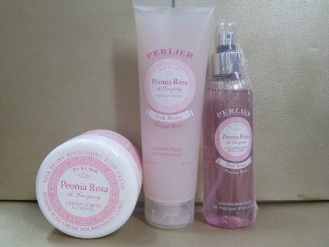 Perlier Pink Peony Gift Set