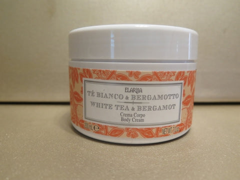 Perlier Elariia White Tea & Bergamot Body Cream 7 oz.