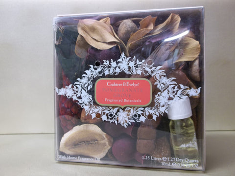 Crabtree & Evelyn Pomegranate Grove Fragranced Botanicals, Oil Included