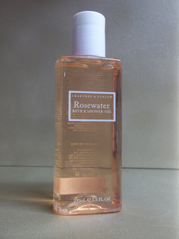 Crabtree & Evelyn Rosewater Bath & Shower Gel 6.8 oz.