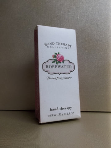 Crabtree & Evelyn Rosewater Drawn From Nature Hand Therapy 1.8 oz.
