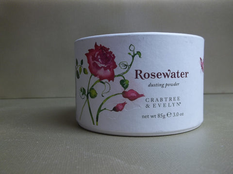 Crabtree & Evelyn Rosewater Dusting Powder 3 oz.