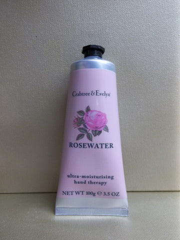 Crabtree & Evelyn Rosewater Ultra Moisturising Hand Therapy 3.5 oz.