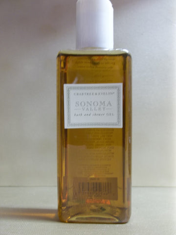 Crabtree & Evelyn Sonoma Valley Bath & Shower Gel 6.8 oz.