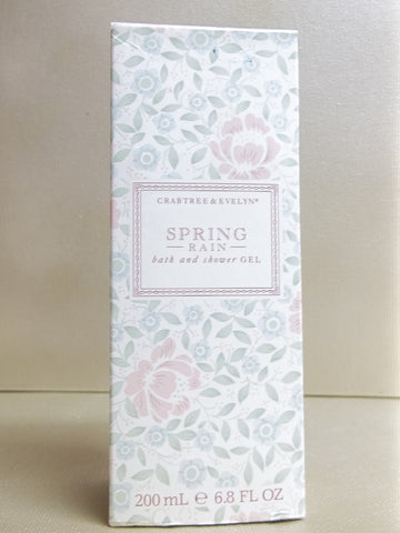 Crabtree & Evelyn Spring Rain Bath & Shower Gel 6.8 oz.