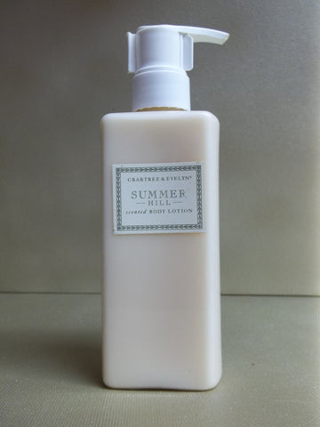 Crabtree & Evelyn Summer Hill Scented Body Lotion 6.8 oz.