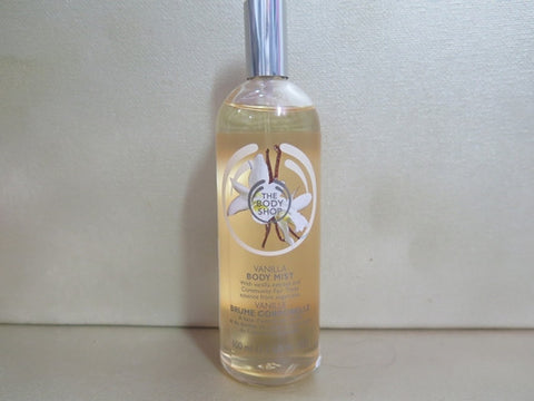 The Body Shop Vanilla Body Mist 3.3 oz. Misc. - Discontinued Beauty Products LLC
