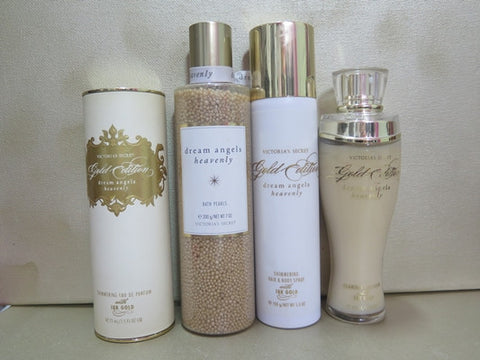 Victoria's Secret Dream Angels Heavenly Gold Edition Gift Set