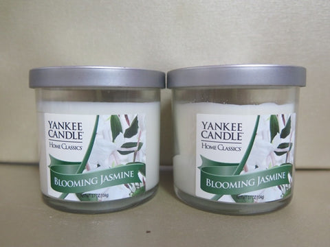 Yankee Candle Blooming Jasmine Candle Set of 2 at 3.7 oz. each