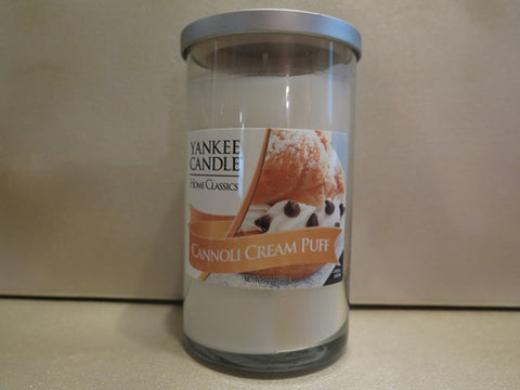 Yankee Candle Home Classics Cannoli Cream Puff 11 oz. - Discontinued Beauty Products LLC