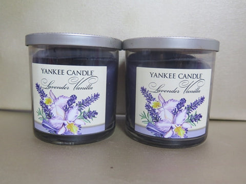Yankee Candle Lavender Vanilla Candle Set of 2 at 7 oz. each