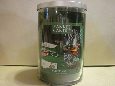 Yankee Candle Poker Night 19 oz.