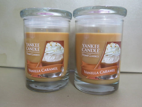 Yankee Candle Vanilla Caramel Candle Set of 2 at 10 oz. each
