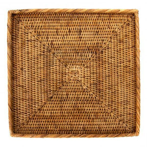 Square Rattan Tray - Amy Berry Home