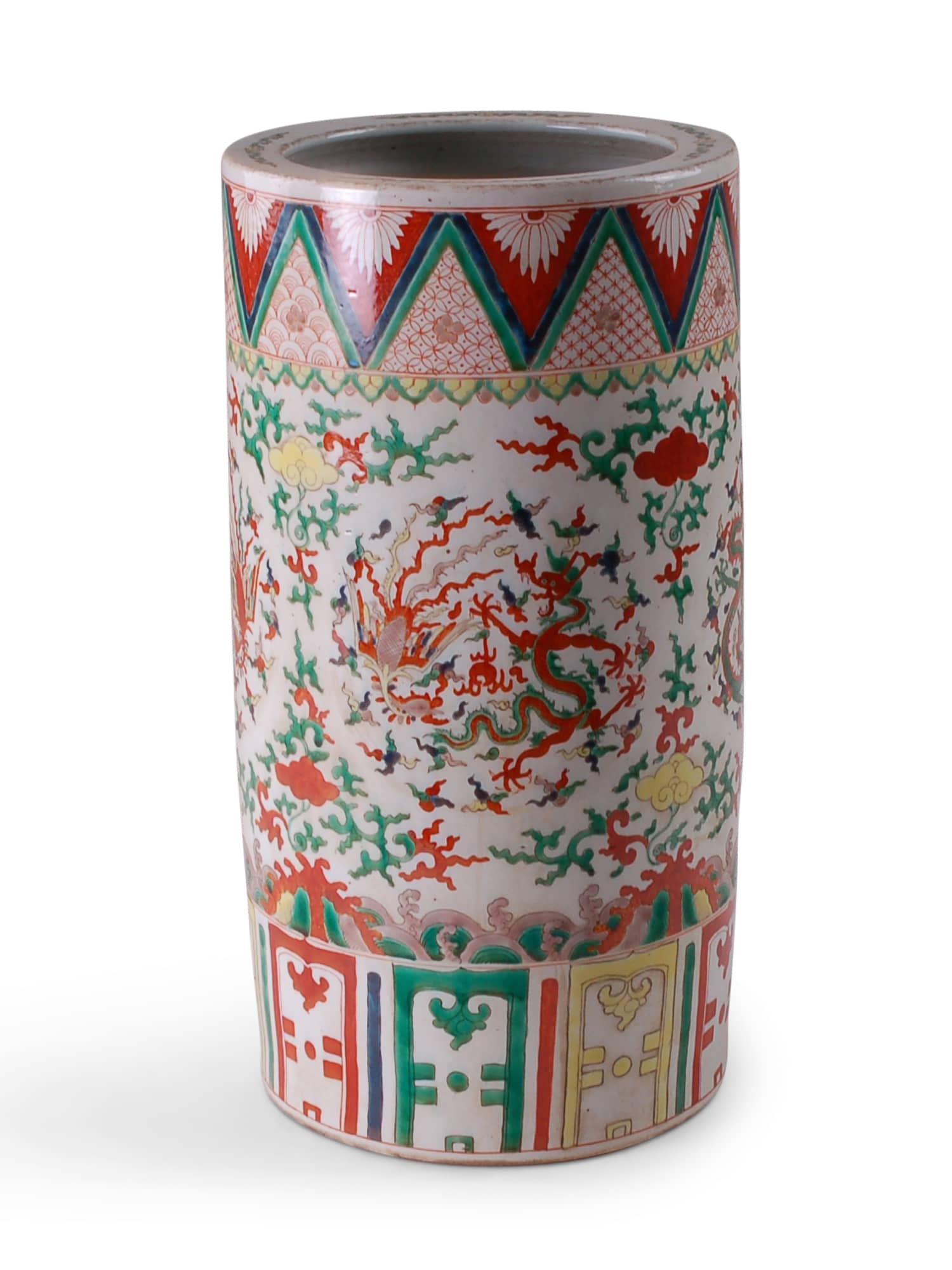 Imari Umbrella Stand - Amy Berry Home