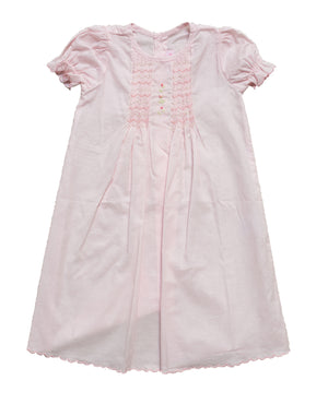 Pink Smocking Day Gown - Amy Berry Home