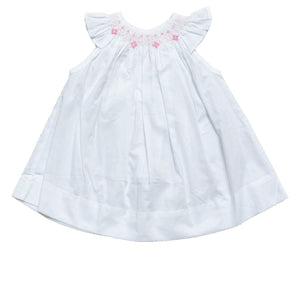 Pink Smocking Dotties Dress - Amy Berry Home