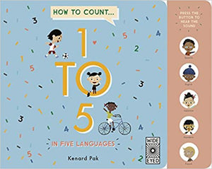 How to Count 1 to 5 in Five Languages - Amy Berry Home